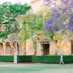 building at The University of Queensland